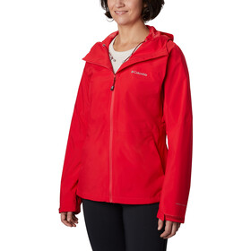 Columbia Evolution Valley II Jacke Damen red lily